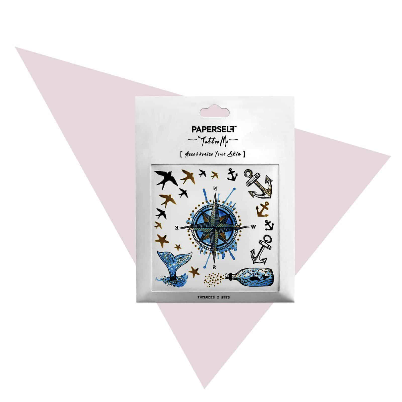 PAPERSELF Tattoo Sticker Blooming Lapidotera