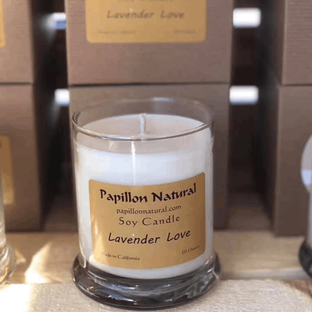 Papillion Natural Soy Hand-made Candle Forest Cedarwood