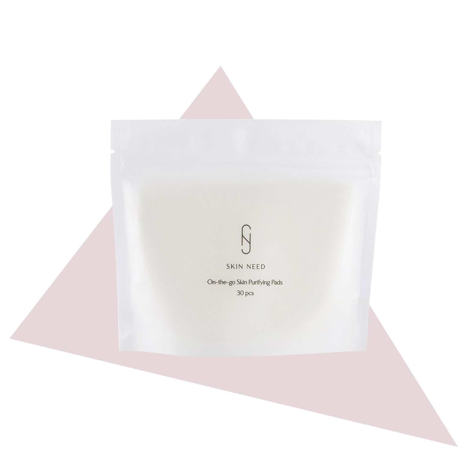 SKIN NEED On-the-go Skin Purifying Pads 30pcs