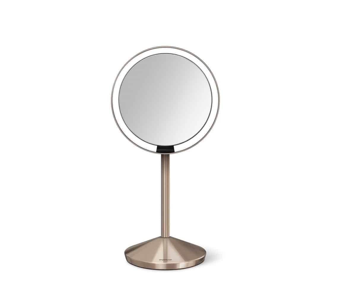 Simplehuman 5 inch Sensor Mirror in Rose Gold Default Title