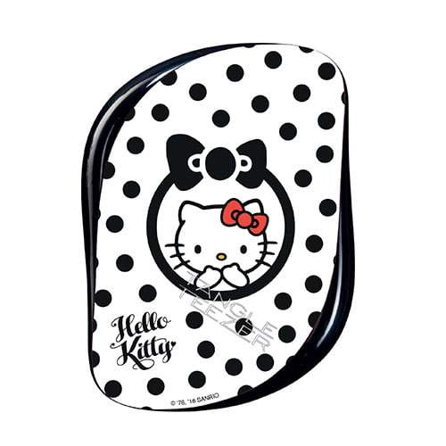 Tangle Teezer Compact Styler Professional Detangling Brush Hello Kitty Black / Red