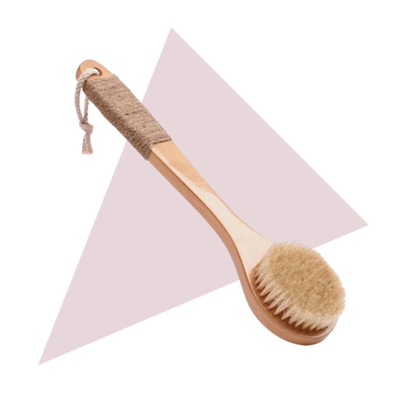 THEA Home Beauty Dry Brush with Handle Default Title