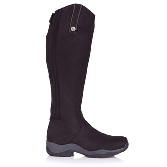 BareBack Footwear Montana Long Riding Boots Black