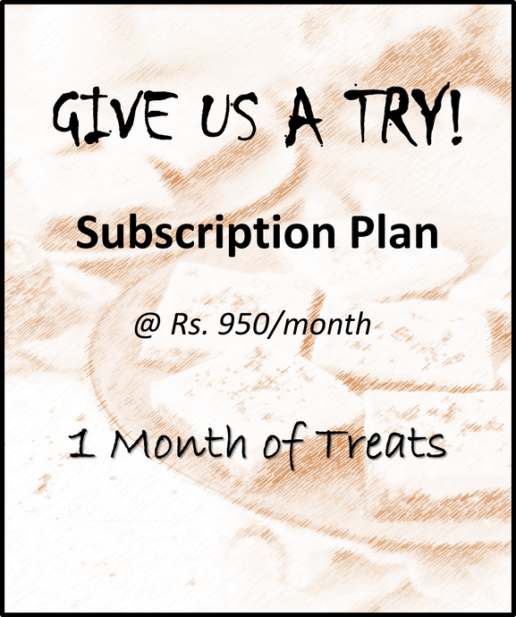 1 month Monsoon Subscription Box