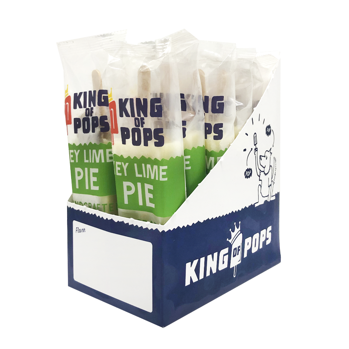 King of Pops - Key Lime Pie 12-pack