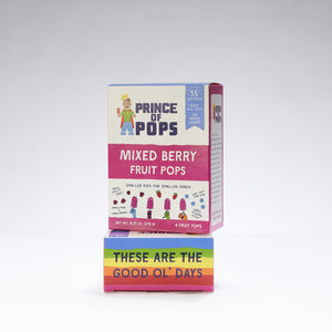 Prince of Pops - Mixed Berry - 4 Pack - 1.5oz