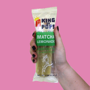 King of Pops - Matcha Lemonade