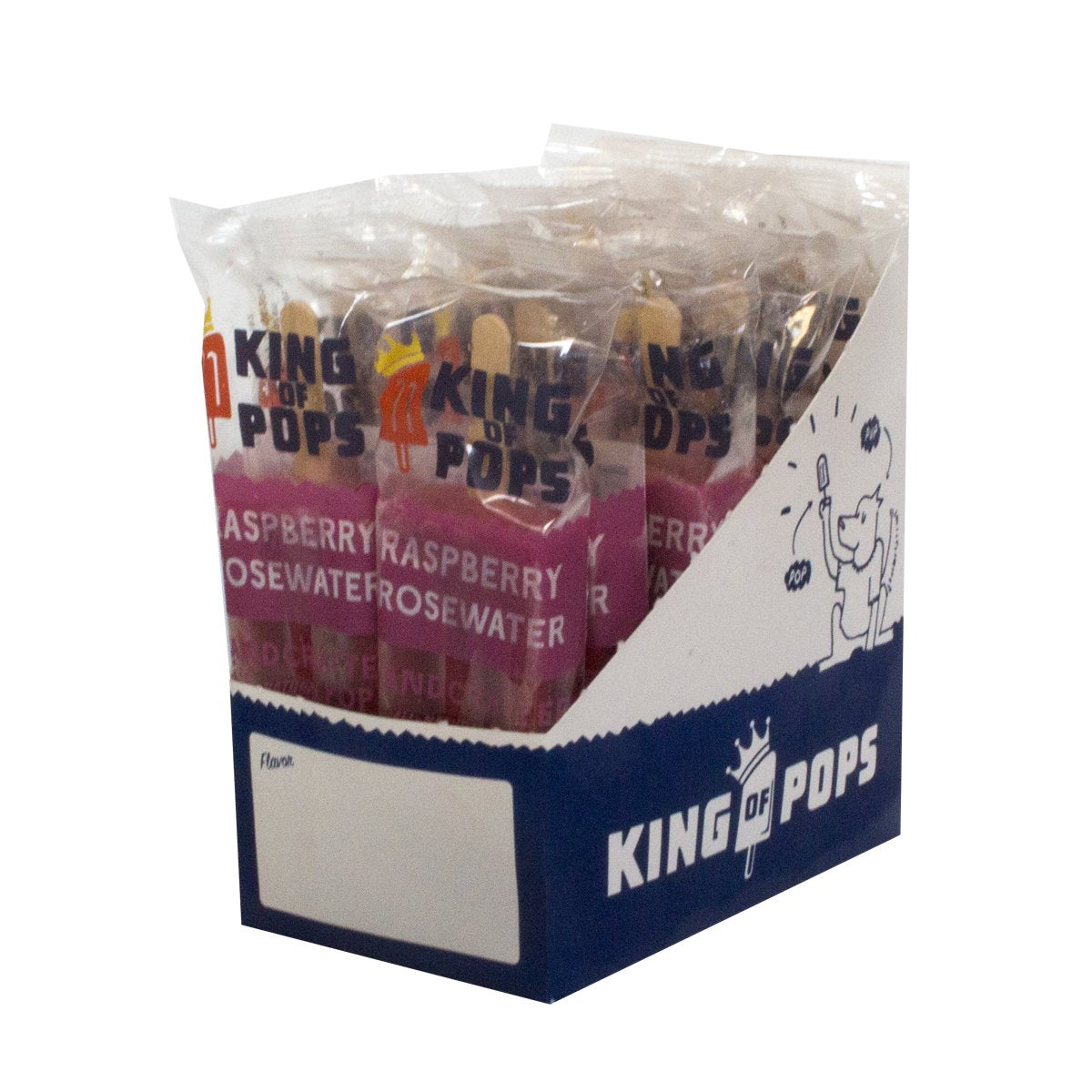 King of Pops - Raspberry Rosewater 12-pack