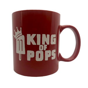 King of Pops Red Mug - 'You're Basically Unstoppable'