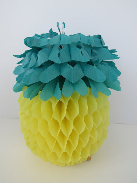 Tropical Tissue Centerpiece / Pineapple