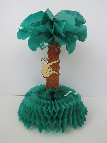 Tropical Tissue Centerpiece / Palm Tree