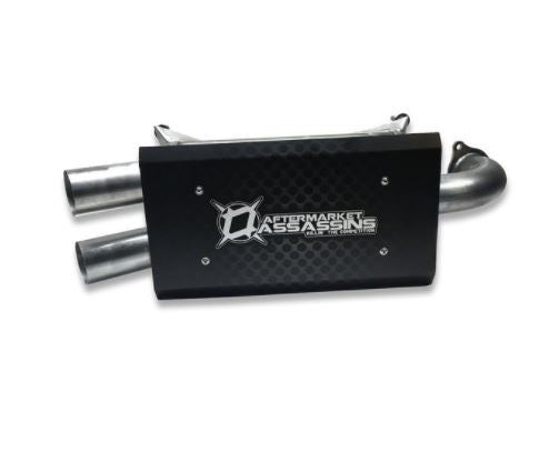 AFTERMARKET ASSASSINS SLIP-ON EXHAUST 2016+ RZR XP TURBO