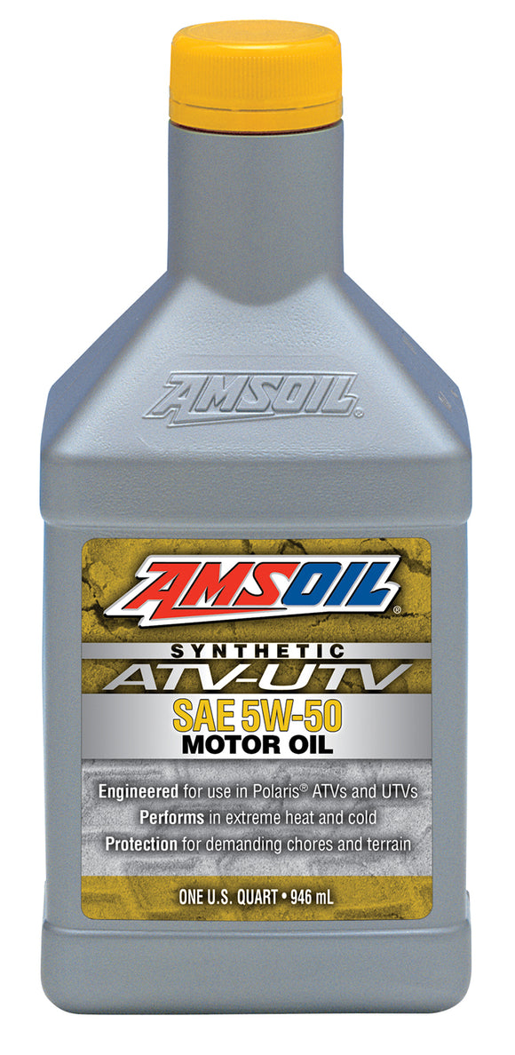 AMSOIL 5W-50 SYNTHETIC ATV/UTV ENGINE OIL
