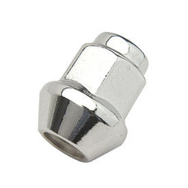 "ITP TAPERED CHROME LUG 3/8""x14mm HEAD"
