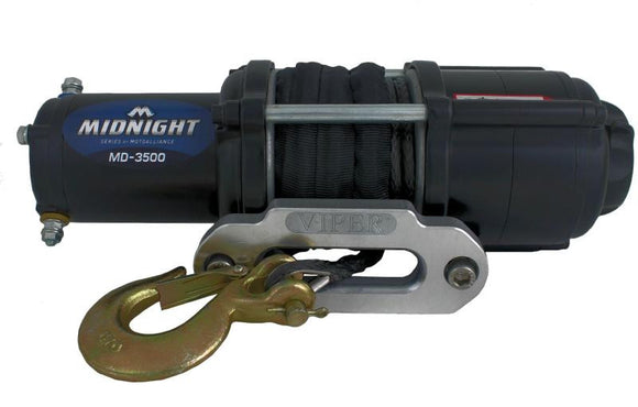 MOTOALLIANCE MIDNIGHT WINCH KIT