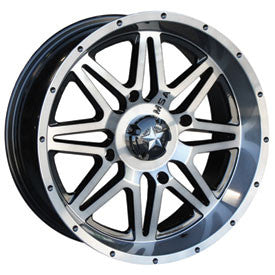 MOTOSPORT ALLOYS M26 VIBE WHEEL DARK TINT 4/156