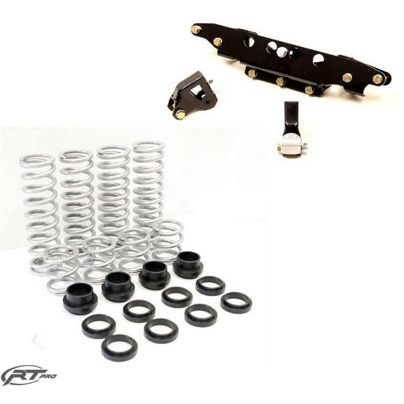 RT PRO RZR S 900 / S 1000 DUAL RATE SPRING & LIFT BUNDLE