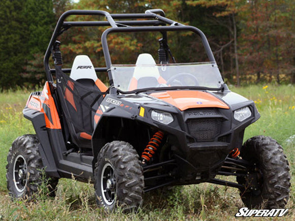 SUPER ATV CLEAR HALF WINDSHIELD - RZR 800 & 900 up to 2014