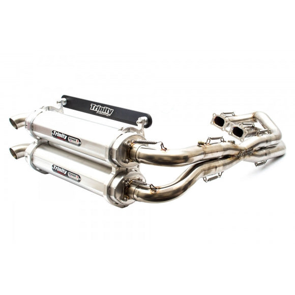 TRINITY RACING STAGE 5 FULL DUAL EXHAUST SYSTEM - RZR XP1000