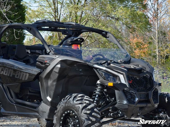 SUPER ATV MAVERICK X3 HALF WINDSHIELD