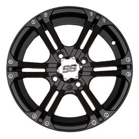 ITP SS212 ALLOY WHEELS MATTE BLACK 4/156