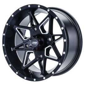 ITP TORNADO WHEELS MATTE BLACK 4/156