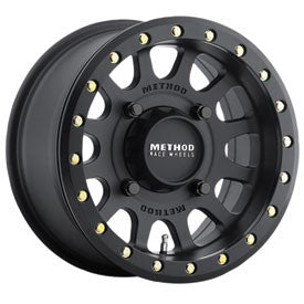METHOD RACE WHEELS 401 BEADLOCK MATTE BLACK 4/156