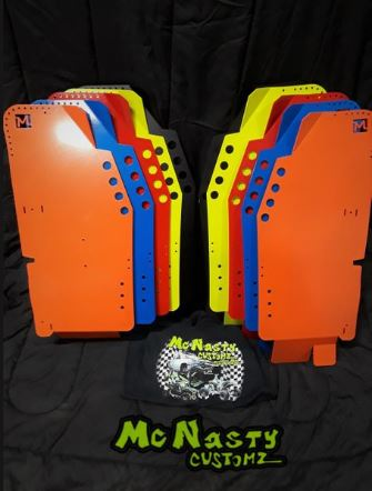 MCNASTY CUSTOMZ RZR REAR GUARDS