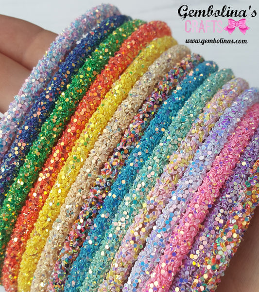 Glitter Headbands Hair Accessory Gembolina's Crafts