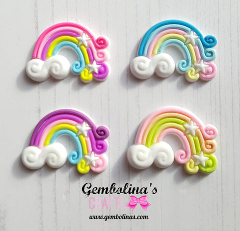 Rainbow Embellishments