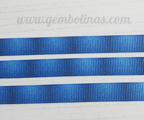3/8 9mm Blue Denim Jeans Effect Printed Grosgrain Ribbon Bow Making Craft Supplies