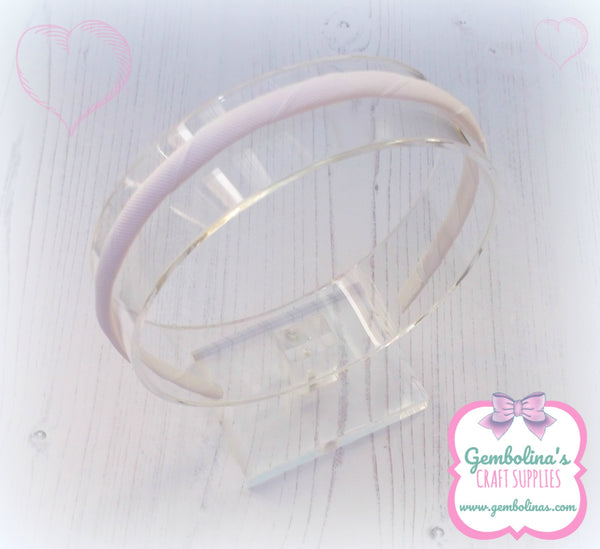 Clear Acrylic Headband Display Stand Photo Prop Bows Bands Gembolina's Crafts
