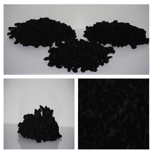 Spider Scrunchie | Black Velvet