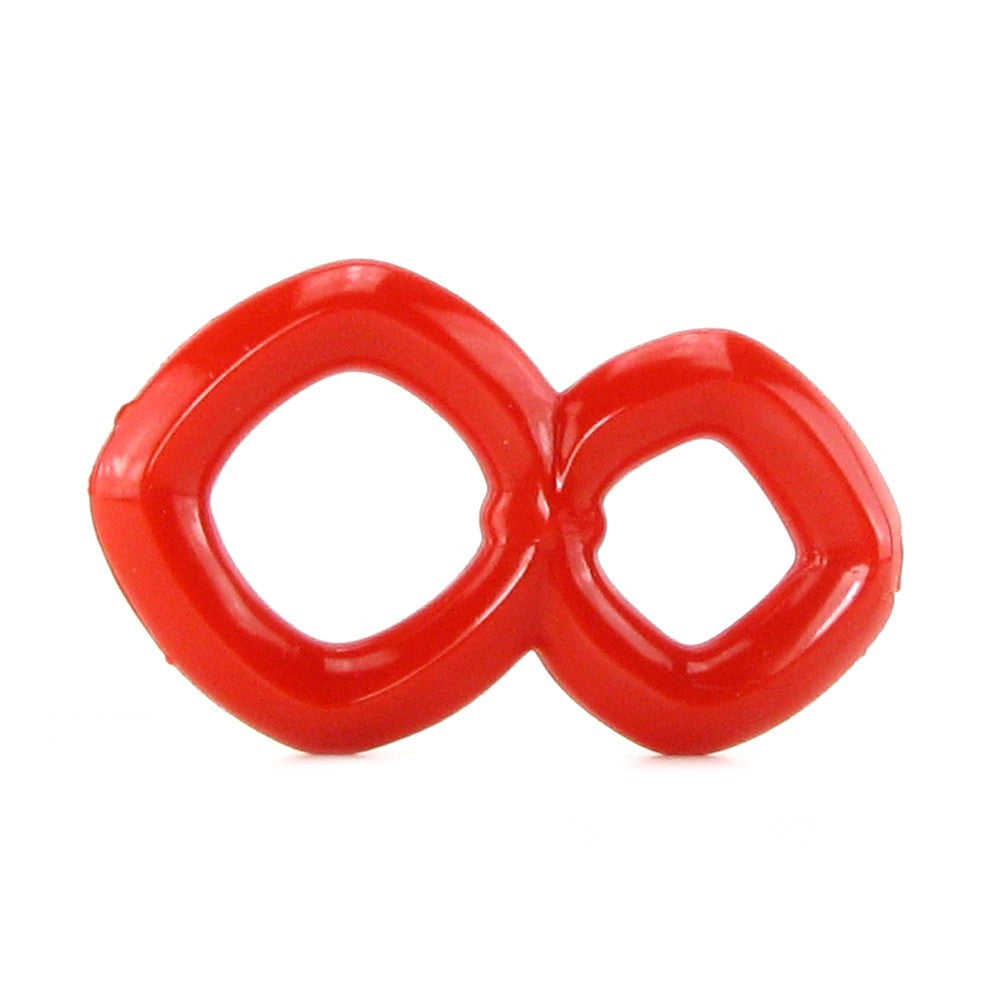Crazy 8 Enhancer Ring in Red