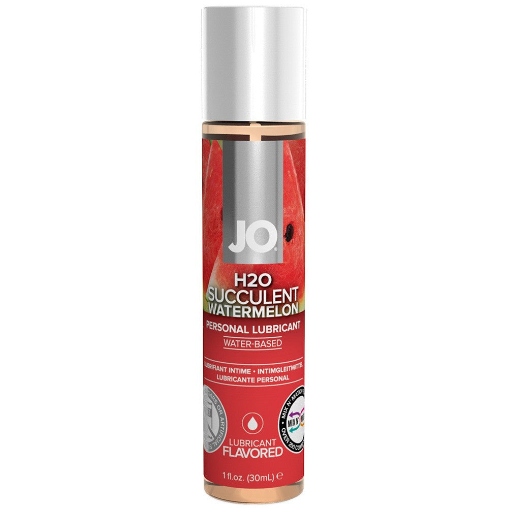 H2O Watermelon Flavored Lubricant in 1oz/30ml