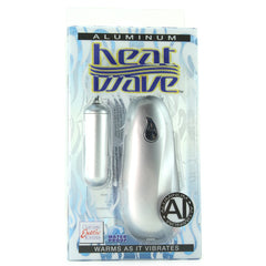 Aluminum Heat Wave Slim Teaser Warming Vibe in Silver