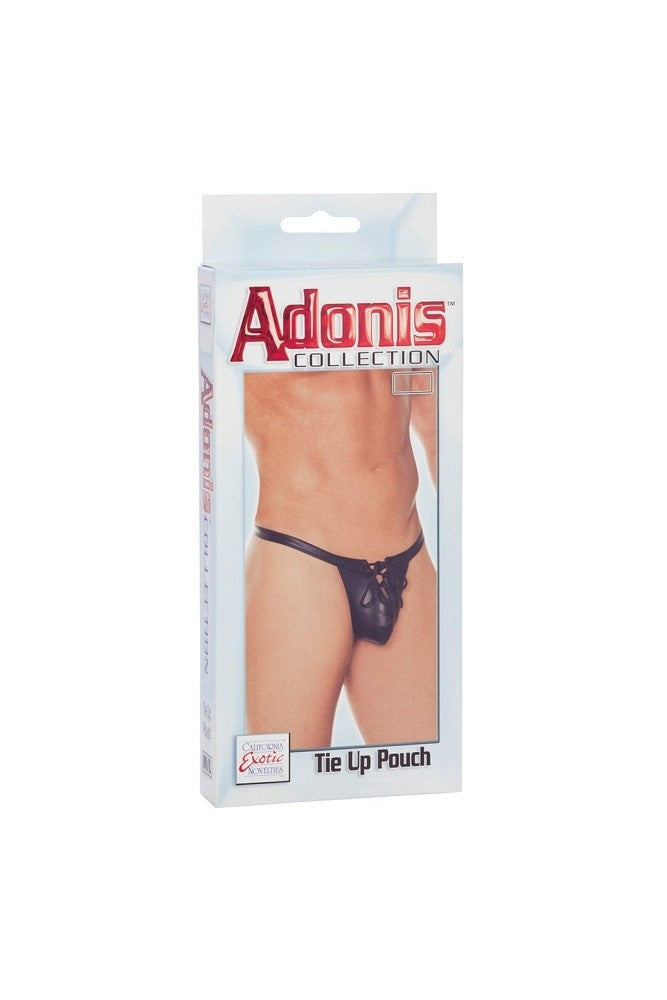 Adonis Collection Tie Up Pouch in L/XL