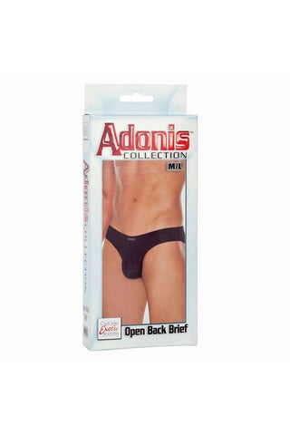 Adonis Collection Open Back Brief in M/L