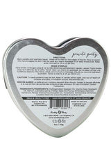 3-in-1 Massage Heart Candle 4oz/113g in Private Party