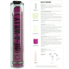 Clone-A-Willy Vibrator Kit in Neon Purple