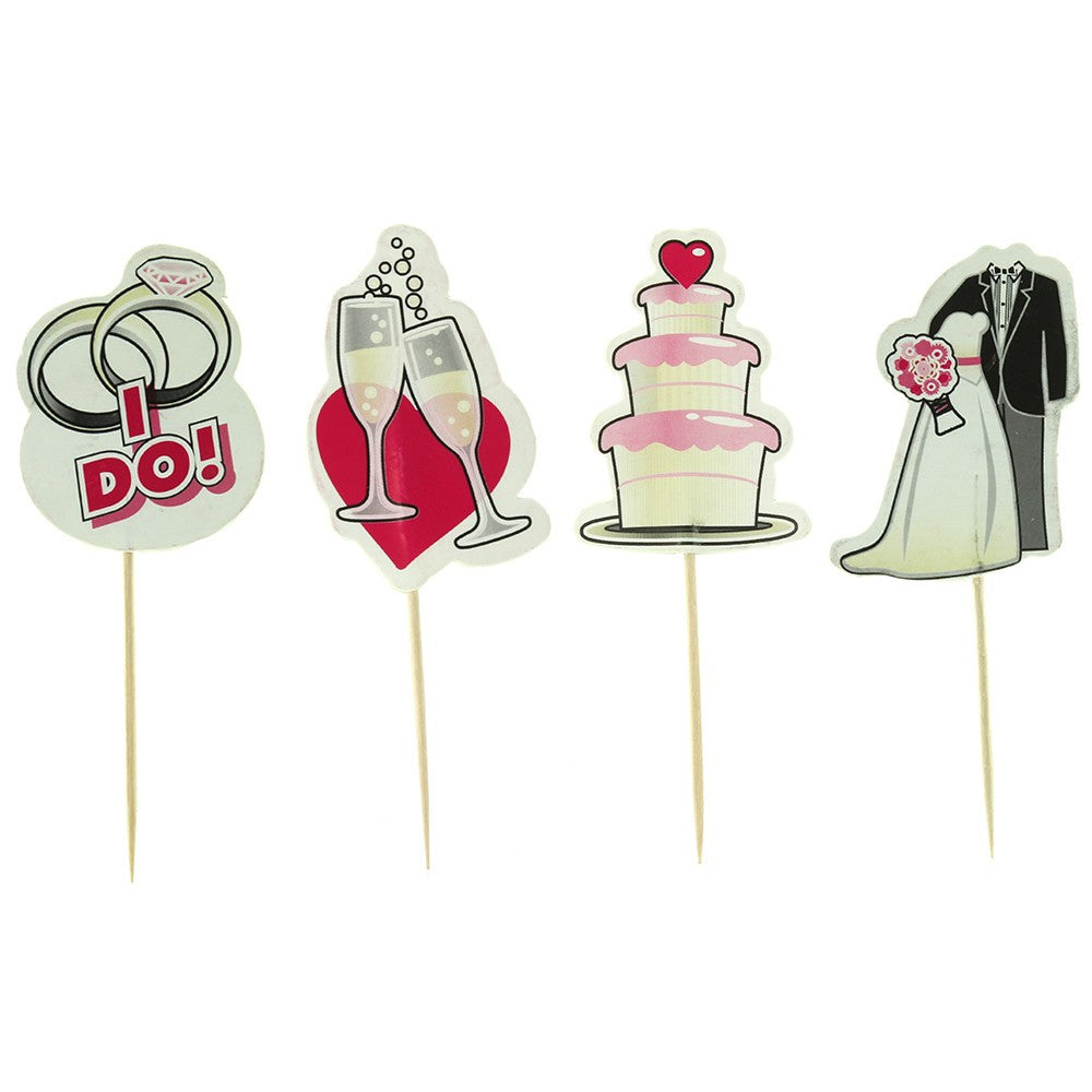 Bridal Party Toothpick Toppers
