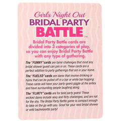 Bridal Party Battle