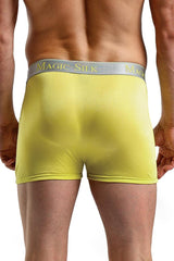 Bright Yellow Silk Panel Shorts in S