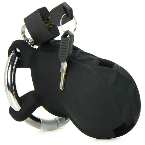 Extreme Silicone Cock Blocker in Black