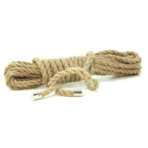 100% Natural Hemp Bondage Rope in 16ft/5M