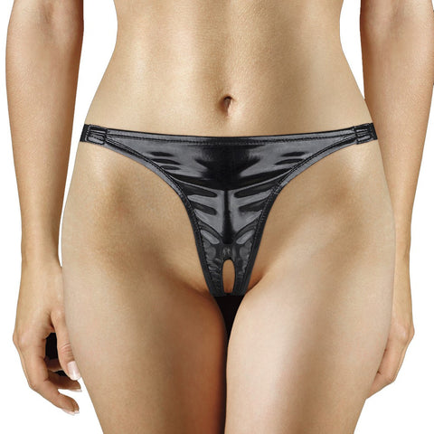 Adjustable Vibrating Panty in Black