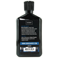 Better Than Spit Water Based Lubricant in 8.5oz/250ml