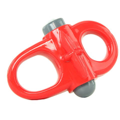 Charged Yoga Reversible 10X Ring Vibe in Red