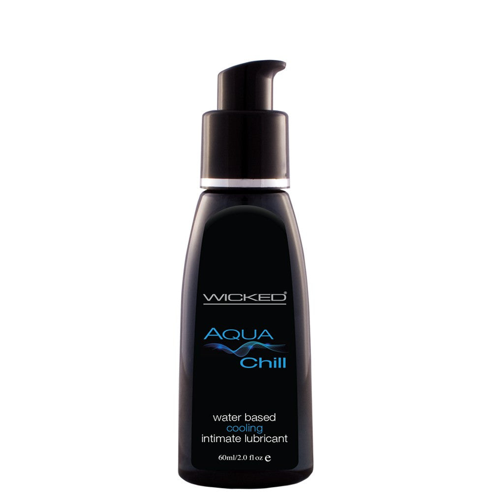 Aqua Chill Cooling Water Based Lube in 2oz/60mL