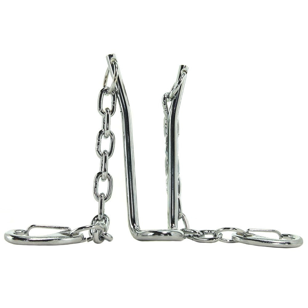 Hitch Stainless Steel Ball Stretcher with Chains in Silver